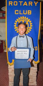 Rotary Club Student Of The Month October - Kyle Santos | Zuni High School