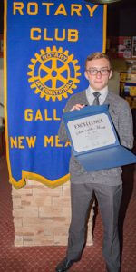 Rotary Club Student Of The Month October - Max Aycock | Miyamura