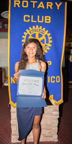 Rotary Club Student Of The Month October - Deedra Gadman | Gallup High