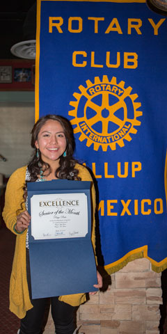 Rotary Club Student Of The Month October - Paige Pinto | Wingate High