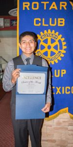Rotary Club Student Of The Month October - Tyler Loretto | Thoreau High